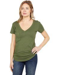 Lamade V-pocket Tee - Tissue Jersey - Green
