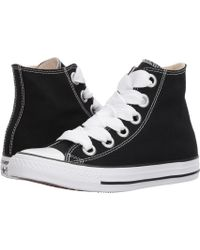 Converse - Chuck Taylor(r) All Star Canvas Big Eyelets Hi (black/natural/white) Women's Classic Shoes - Lyst