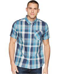 United By Blue Kintyre Plaid Shirt - Blue