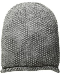 48f65a467d3 Rebecca Minkoff - Simple Solid Slouchy Beanie (black) Beanies - Lyst