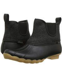 Skechers Mid Herringbone Chelsea Boot - Black
