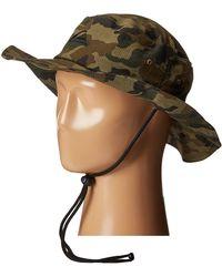 Quiksilver - Bushmaster Hat (black) Caps - Lyst