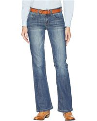Ariat - R.e.a.l.tm Straight Icon Jeans (ocean) Women's Jeans - Lyst