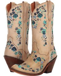 Dan Post - Happily Ever After (bone) Women's Pull-on Boots - Lyst