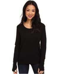 Lamade Thermal Top With Thumbholes - Black