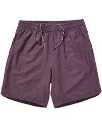 Rhone 8 Guru Shorts - Unlined - Purple