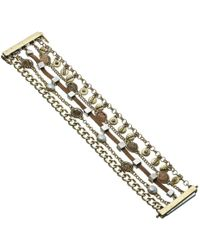Lucky Brand - Druzy Lucky Layer Braceket (two-tone) Bracelet - Lyst