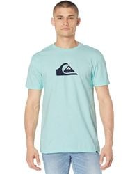 Quiksilver - Comp Logo Short Sleeve Tee - Lyst