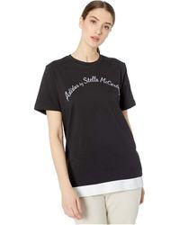adidas By Stella McCartney Logo T-shirt - Black