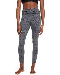 Nike Ny Dots Twist 7/8 Tights - Gray