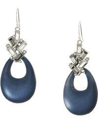 Alexis Bittar - Crystal Baguette Cluster Drop Earrings (ocean) Earring - Lyst