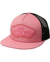 Vans - Beach Girl Trucker Hat (desert Rose) Caps - Lyst