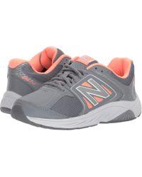 New Balance - Ww847v3 (white/grey) Women's Walking Shoes - Lyst
