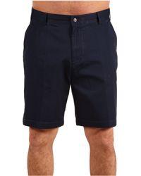 Nautica - Big & Tall True Khaki Flat Front Short - Lyst