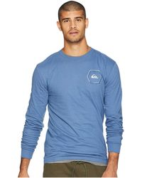 1b5554f1c57 Quiksilver - Swell Symmetry Long Sleeve Tee (white) Men s Long Sleeve  Pullover - Lyst