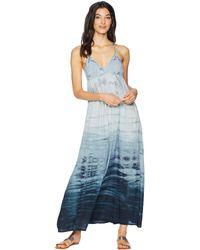 ffcb0e8aa08ba Hard Tail - Playa Maxi Dress (two Color Iceberg) Women s Dress - Lyst