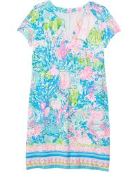 Lilly Pulitzer Upf 50+ Sophiletta Dress - Blue