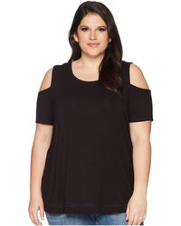 Lyssé - Plus Size Mira Top (black) Women's Clothing - Lyst