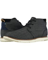 TOMS Navi Shoes - Black