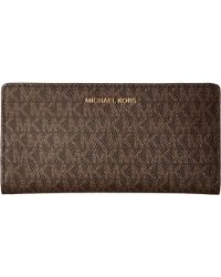 ab54663ff3ca13 MICHAEL Michael Kors - Large Card Case Carryall (green Version) Credit Card  Wallet -