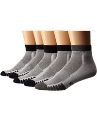 Ecco - Anklet Cushion W/ Mesh Top Socks - 6 Pack - Lyst