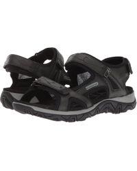 Allrounder By Mephisto - Larisa (black Glamour/mesh) Women's Sandals - Lyst