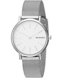 Skagen - Signatur - Skw2692 (silver) Watches - Lyst