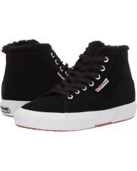 Superga - 2795 Suehairfurw (dark Grey Suede) Women's Shoes - Lyst