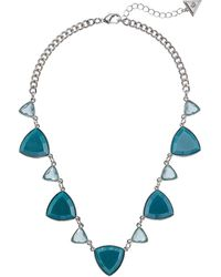 Guess Teal Necklace - Blue