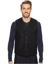 Filson Mackinaw Wool Vest - Blue