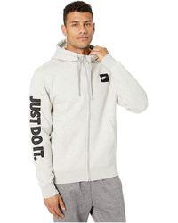 Nike Nike Club Fleece Full Zip Hoodie (WatermelonWatermelonWhite) Men's Fleece from Zappos   People