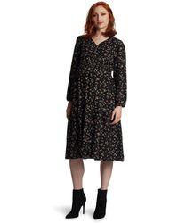 Everly Grey Jenny Maternity/nursing Dress - Black