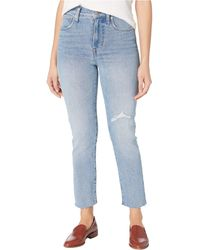 Madewell Perfect Vintage Jeans In Rosabelle Wash - Blue
