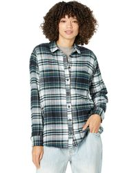 Madewell Sunday Flannel October Plaid - Green
