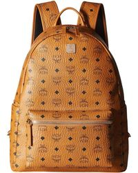 MCM - Stark No Stud Medium Backpack (red/white) Backpack Bags - Lyst