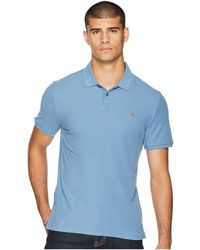 9b971158ab2 Gucci Cotton Polo With Web Collar in Green for Men - Lyst