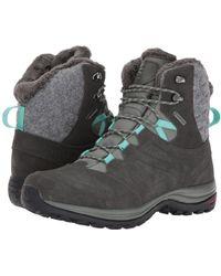 Yves Salomon - Ellipse Winter Gtx(r) (castor Gray/beluga/biscay Green) Women's Shoes - Lyst
