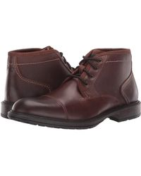 Florsheim Vandall Cap Toe Lace-up Boot - Brown