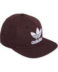 adidas Originals Originals Trefoil Chain Snapback Cap - Purple