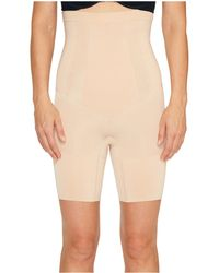 Spanx - Oncore High-waisted Mid-thigh Short - Lyst