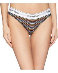 Calvin Klein - Modern Cotton Bikini (grey Heather) Women s Underwear - Lyst 146900288
