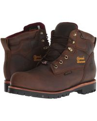 Chippewa - 6 Wp Insulated Comp Toe (bay Apache) Men's Work Boots - Lyst