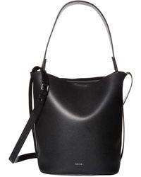Reiss Hudson Bucket Bag - Black