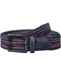 Torino Leather Company 35 Mm Italian Woven Cotton Leather - Blue