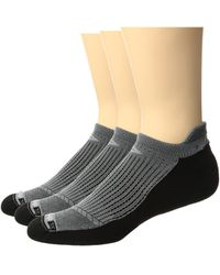 Drymax Sport - Running No Show Tab 3-pack (royale/anthracite) No Show Socks Shoes - Lyst