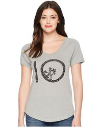 Tentree - Vintage T-shirt (lunar Rock) Women's T Shirt - Lyst