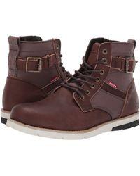 Levi's - Levi's(r) Shoes Cobalt Pt Lux (brown) Men's Shoes - Lyst