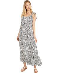 Hurley Tiered Maxi Dress - Gray