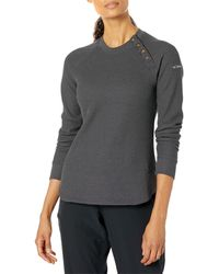 Columbia Chillin Sweater Clothing - Gray