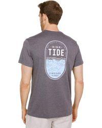 Vineyard Vines Short Sleeve High Tide Dunes T-shirt - Gray
